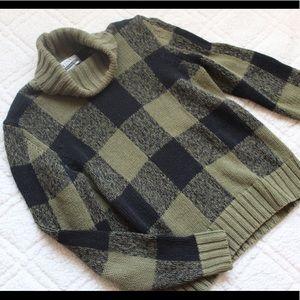 Vintage Buffalo Plaid Sweater